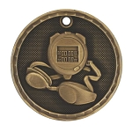 3-D Swimming Medal