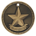 3-D Star Performer Medal