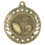 Galaxy Football Medal