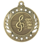 Galaxy Music Medal