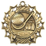 Ten Star Golf Medal
