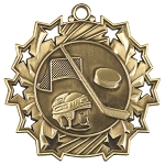 Ten Star Hockey Medal