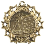 Ten Star Math Medal