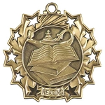 Ten Star Reading Medal