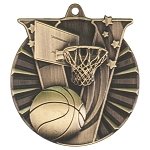 Victory Basketball Medal