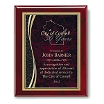 8x10 Piano Finish Designer Plaque