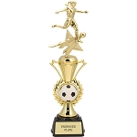 Soccer Female Radiance Star Sport Trophy