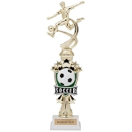 Soccer Female All Star Riser Trophy