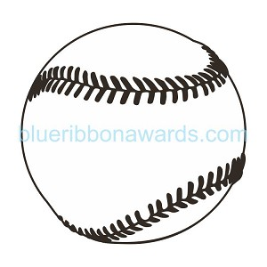 Baseball Engraving Image