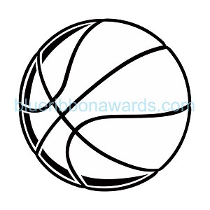 Basketball Engraving Image