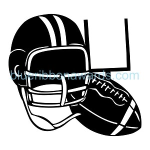 Football Engraving Image