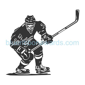 Hockey Engraving Image