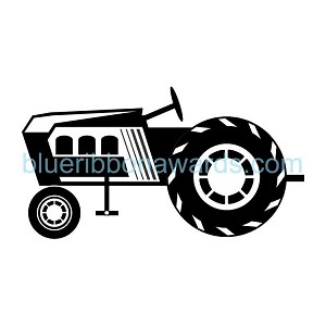Pedal Tractor Engraving Image