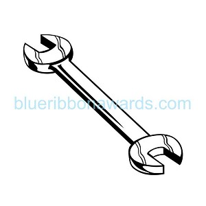 Wrench Engraving Image