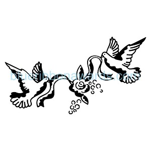 Doves Engraving Image