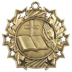 Ten Star Religion Medal