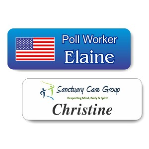 "1""x 3"" Full Color Name Tag"