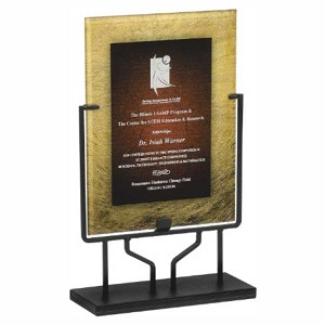 "16"" plaque with stand"