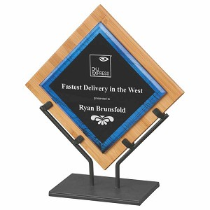 "14 1/4"" plaque with stand"